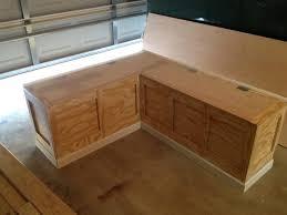 Kitchen Storage Bench Plans by Kitchen Bench Plans U2013 Pollera Org