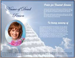 Making A Funeral Program Funeral Brochure Template Funeral Program Brochure Jpg Pay Stub