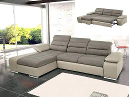 canapé d angle convertible taupe canap d angle cuir taupe awesome canape angle taupe canapac lit