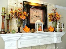 thanksgiving mantel decorations neutralduo