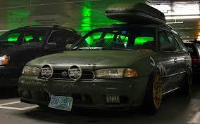 drift subaru legacy wagon