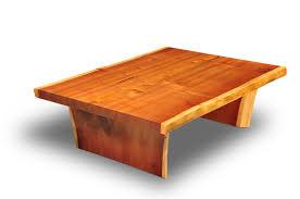 Redwood Coffee Table Clark Functional Cfa Large Coastal Redwood Slab Coffee Table