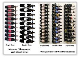 taking a second look at metal wine racks