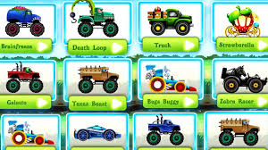 monster truck games videos for kids kids monster trucks action racing games police car racing