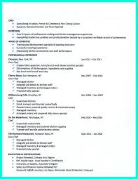 Sample Chef Resume by Demi Chef Resume Resume For Your Job Application
