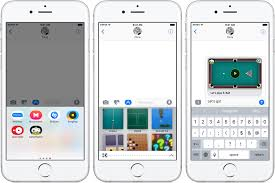 how to use imessage apps in ios 10 messages