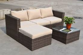 rattan corner sofa best outdoor furniture corner seating seasons costa rica rattan