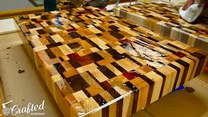 Diy End Grain End Table End Grain Cutting Boards From Scrap Wood How To Crafted Workshop
