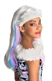 monster high wigs girls halloween fancy dress kids childs costume