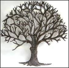 Home Decor Tree Natural Metal Tree Wall Art Decoration Ideas Metal Tree Wall Art