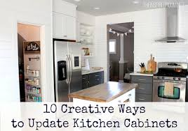 Update Kitchen Cabinet Doors 10 Creative Ways To Update Kitchen Cabinets My Colortopia