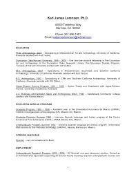 Academic Resume Academic Resume 2006