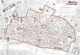Map Of London England by Genuki Parishes U0026 Wards London