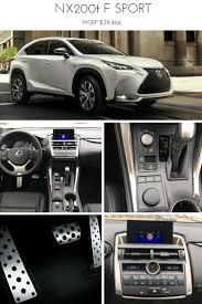 nuovo suv lexus hybrid lexus nx 300h u201cf sport u201d may need this cars i like