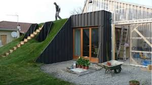 shipping container homes underground youtube