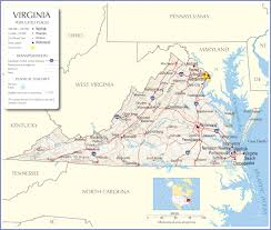 virginia map virginia map virginia state map virginia state road map map of