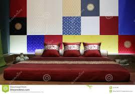 Schlafzimmer Designen Online Kostenlos Modernes Asiatisch Art Schlafzimmer Stockfoto Bild 2219780