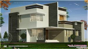 Contemporary Home Exterior by Square Feet Box Type Exterior Home Kerala Home Design Floor Square