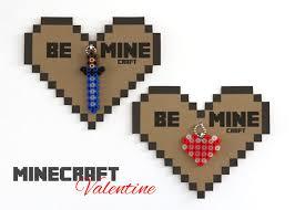 minecraft valentines cards make minecraft valentines free printable