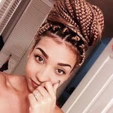 hair braiding got hispanucs box braids marrom pesquisa google ah esse cabelo pinterest