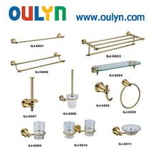 chrome brass bathroom accessories guangdong oulyn group co ltd