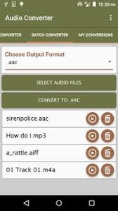 apk converter audio converter apk free audio app for android