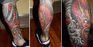 dragon leg sleeve tattoo designs best tattoo 2017