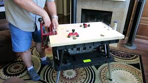 keter portable work table portable reloading bench using a keter folding work table youtube