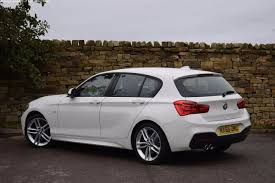 white bmw 1 series sport used bmw 1 series 125d m sport 5dr auto for sale in richmond