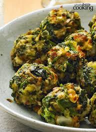 stove top spinach balls recipe healthy living recipes