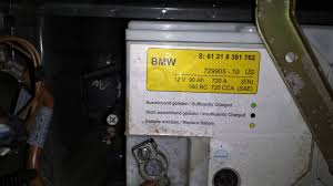 bmw 528i battery am i but is this the original battery that has been in my