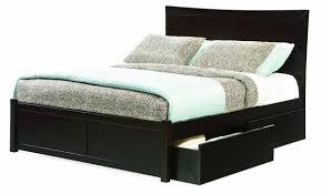 Black Wooden Bed Frames Simple Bedroom Furniture With Wooden Black Bed Frame White