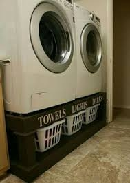 Front Load Washer With Pedestal How To Make Your Own Washer Dryer Pedestal This Is Brilliant Why