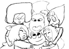 Group Hug Meme - i m a cherry man steven universe 30 day art meme day 30 group