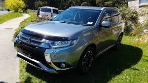 mitsubishi outlander sport 2016 blue 2016 mitsubishi outlander phev vrx vehicle unixmo
