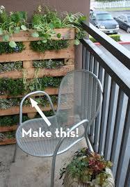 Vertical Garden For Balcony - how to turn a pallet into a vertical garden curbly