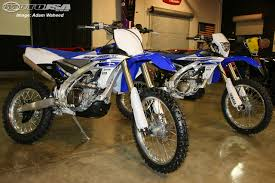 yamaha motocross bikes for sale 2016 yamaha wr450f and yz450fx first look motorcycle usa