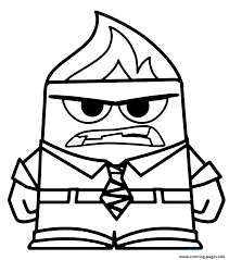 anger coloring pages printable