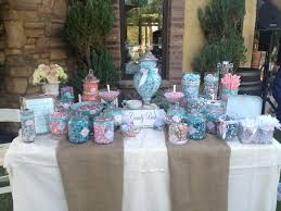 shabby chic candy buffet at lake oak meadows candy buffet by