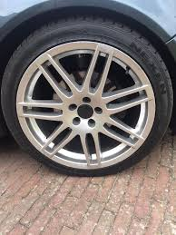 glitter audi audi rs4 le mans style alloy wheels 5x100 vw vag in frinton on