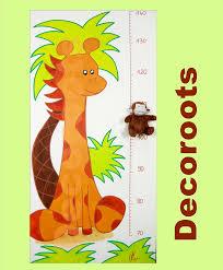 stickers girafe chambre bébé stickers chambre bébé jungle fashion designs