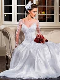 beautiful wedding gowns lace beautiful wedding dresses see through organza sleeves