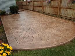 Decorative Concrete Patio Contractor Patios U0026 Walkways Gallery Real Help Custom Concrete Company