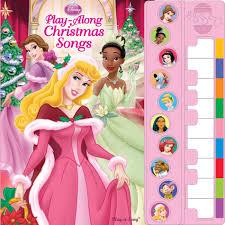 disney princess piano songbook play along christmas songs