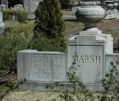 the headstone u0026 grave of margaret mitchell marsh author of