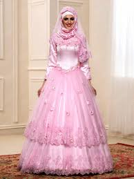 islamic wedding dresses pretty applique beading a line floor length zipper up muslim