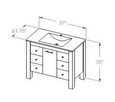 Average Height Of Bathroom Vanity by Excellent Decoration Standard Height For Bathroom Vanity 15 What