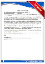 Best Resume Retail Store Manager by Agreement For Office Lottery Pool Best Resume Retail Store Manager