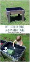 Toddler Water Table Diy Toddler Water Table From Recycled Wood The Backyard Just
