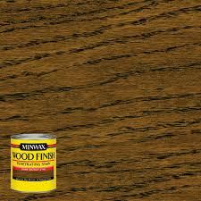 minwax 8 oz wood finish dark walnut oil based interior stain